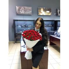 "Bouquet ""35 red roses"""