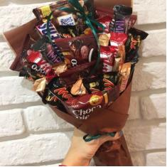 "Bouquet of sweets ""Chocolate Bar"""