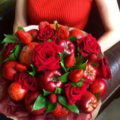 "Bouquet of fruits ""Passionate love"""