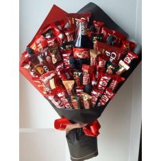 "Bouquet of sweets ""Kitkat"""