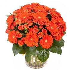 "Bouquet ""Orange joy"""