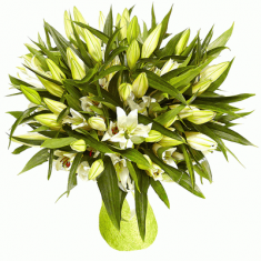 "Bouquet ""21 White Lily"""