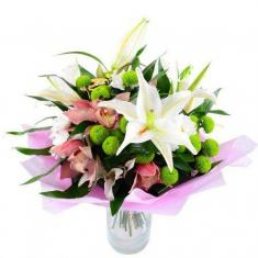 "Bouquet ""Lilies for Mom"""