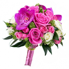 "Wedding Bouquet ""Pink holiday"""