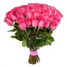 "Bouquet ""51 Pink Rose Dutch """