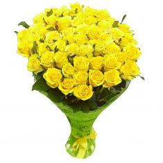 "Bouquet ""51 Yellow Rose"""
