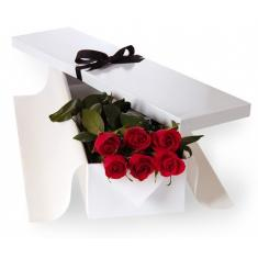 "Box ""9 Red roses"""