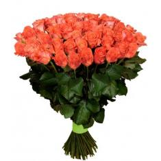 "Bouquet ""101 Orange Rose"""
