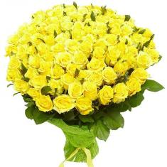 "Bouquet ""101 Yellow Rose"""