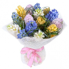 "Bouquet ""Bright Hyacinths"""