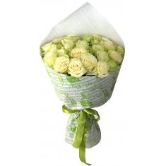 "Bouquet ""23 White roses"""