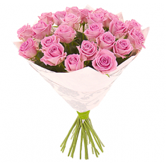"Bouquet ""19 Pink Roses"""