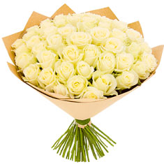 "Bouquet ""51 White Rose"""