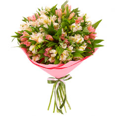 "Bouquet ""13 Alstroemeria mix"""