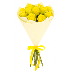 "Bouquet ""11 Yellow Roses"""