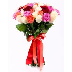 "Bouquet ""45 bright roses"""