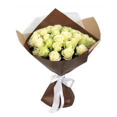 "Bouquet ""35 white roses"""
