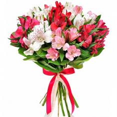 "Bouquet ""15 Alstroemeria mix"""