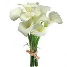 "Bouquet ""11 white Callas"""