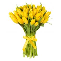 "Bouquet ""51 yellow Tulip"""
