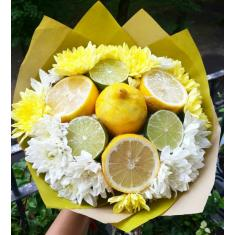 "Bouquet of fruits ""Lemon boom"""