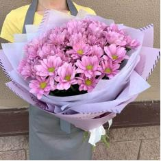 "Bouquet ""Pink Chrysanthemums"""