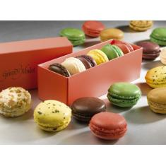 Macarons in a box