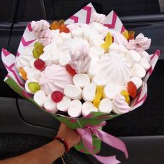 "Bouquet of sweets ""Marshmallow"""