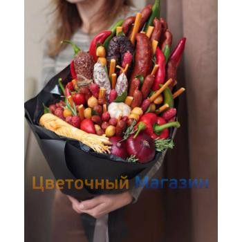 "Edible bouquet ""Sausage Paradise""Edible bouquet ""Sausage Paradise"""