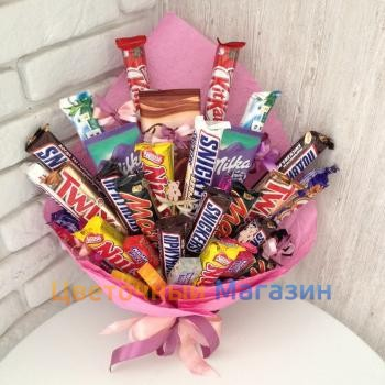 "Bouquet of sweets ""Chocolate mood"""