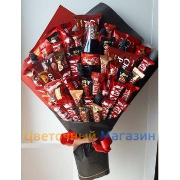 """Bouquet of sweets """"Kitkatr"""""""