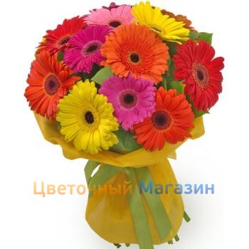 "Bouquet ""Gerbera color 15""Bouquet ""Gerbera color 15"""