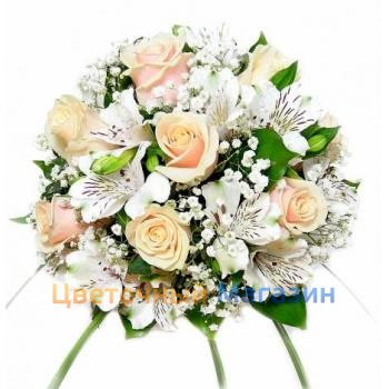 "Wedding Bouquet ""Cream Delight"""