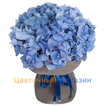 "Bouquet ""Blue cloud""Bouquet ""Blue cloud"""