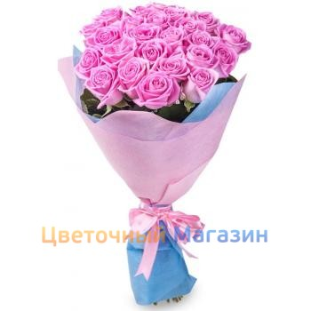 "Bouquet ""25 Pink Rose"""