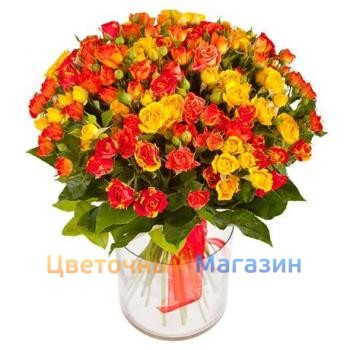 "Bouquet ""29 shrub roses"""