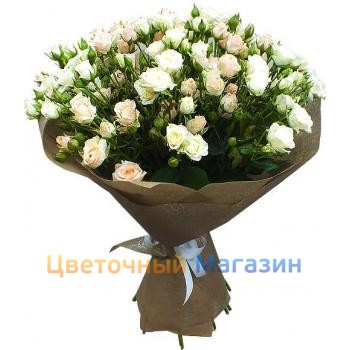 "Bouquet ""23 Bush roses"""