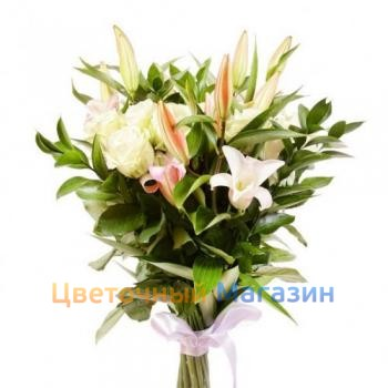 "Bouquet ""Soft White"""