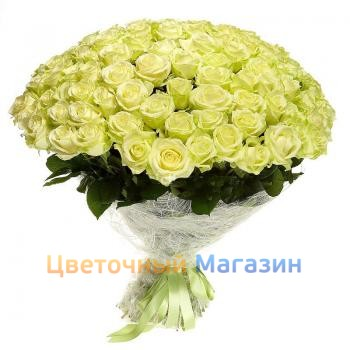 "Bouquet ""201 White Rose"""