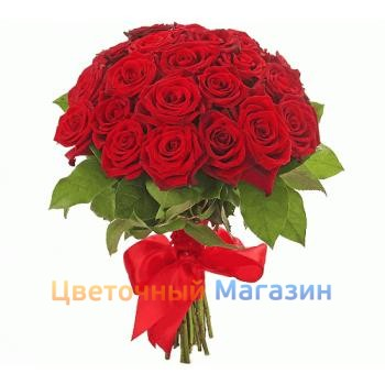 "Bouquet ""Of the 25 red roses"""