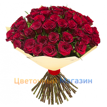 "Flowers delivery DneprBouquet ""51 Red rose"""