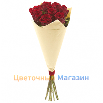 "Bouquet ""9 Red Roses"""