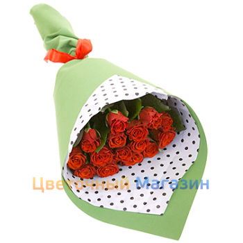 "Flowers delivery DneprBouquet ""15 rose El Toro"""