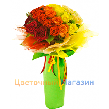 "Bouquet ""Rainbow of love"""