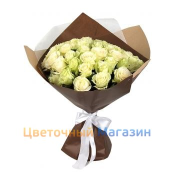 "Bouquet ""35 white roses""Bouquet ""35 white roses"""
