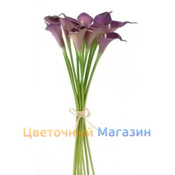 "Bouquet ""11 purple callas"""