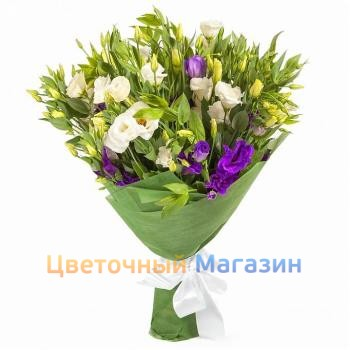 "Bouquet ""Eustoma mix"""