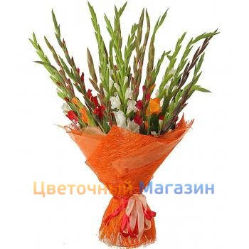"Bouquet ""25 gladiolus mix"""