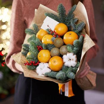 "Bouquet of fruits ""New year's fantasy""Bouquet of fruits ""New year's fantasy"""