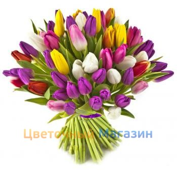 "Bouquet ""51 Tulip mix"